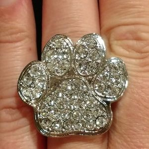 Jewelry - Paw Print Stretch Ring